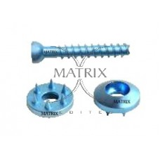 Low Profile Cancellous Screw & Spiked Washers
